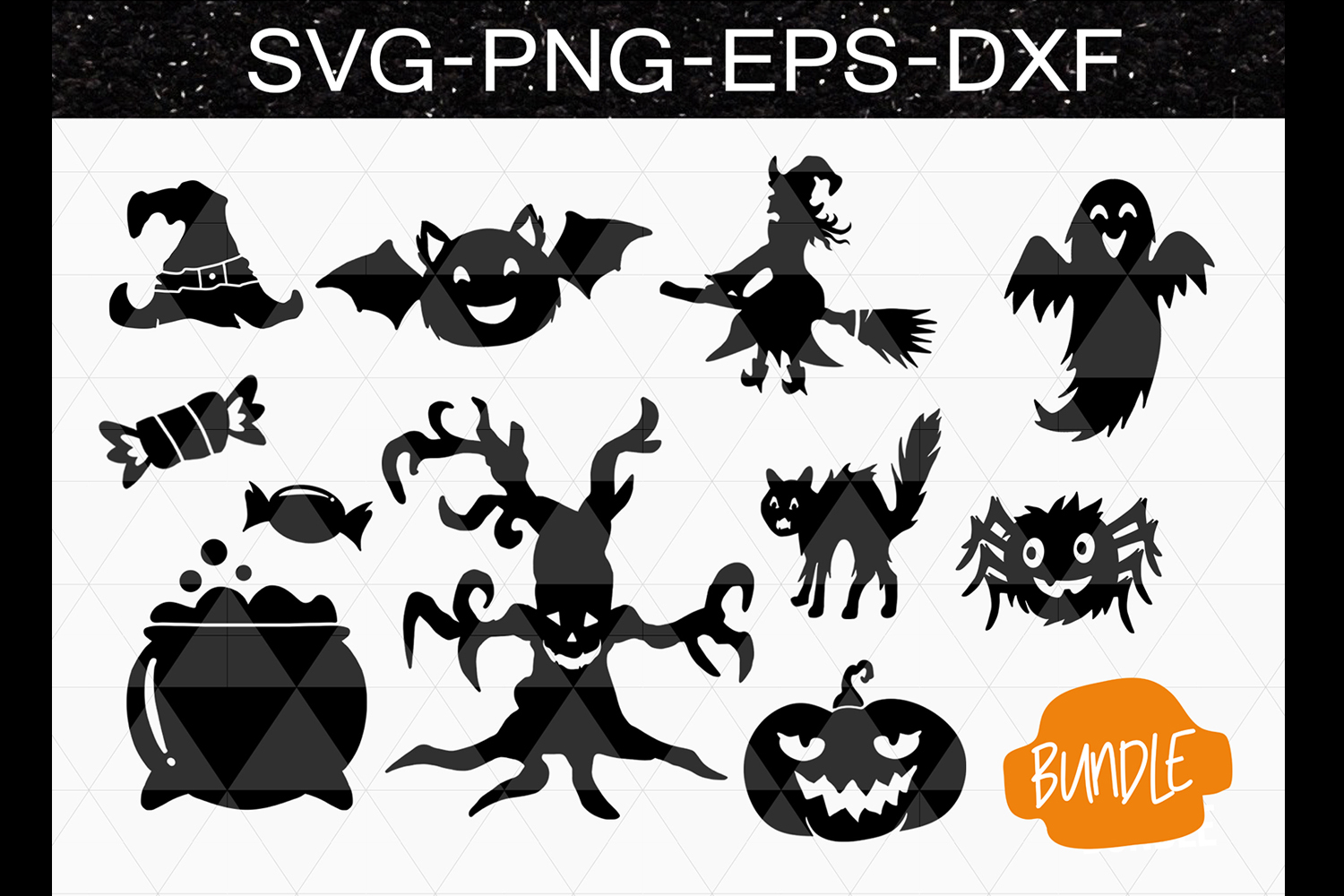 Halloween clipart hand. Drawn svg dxf eps