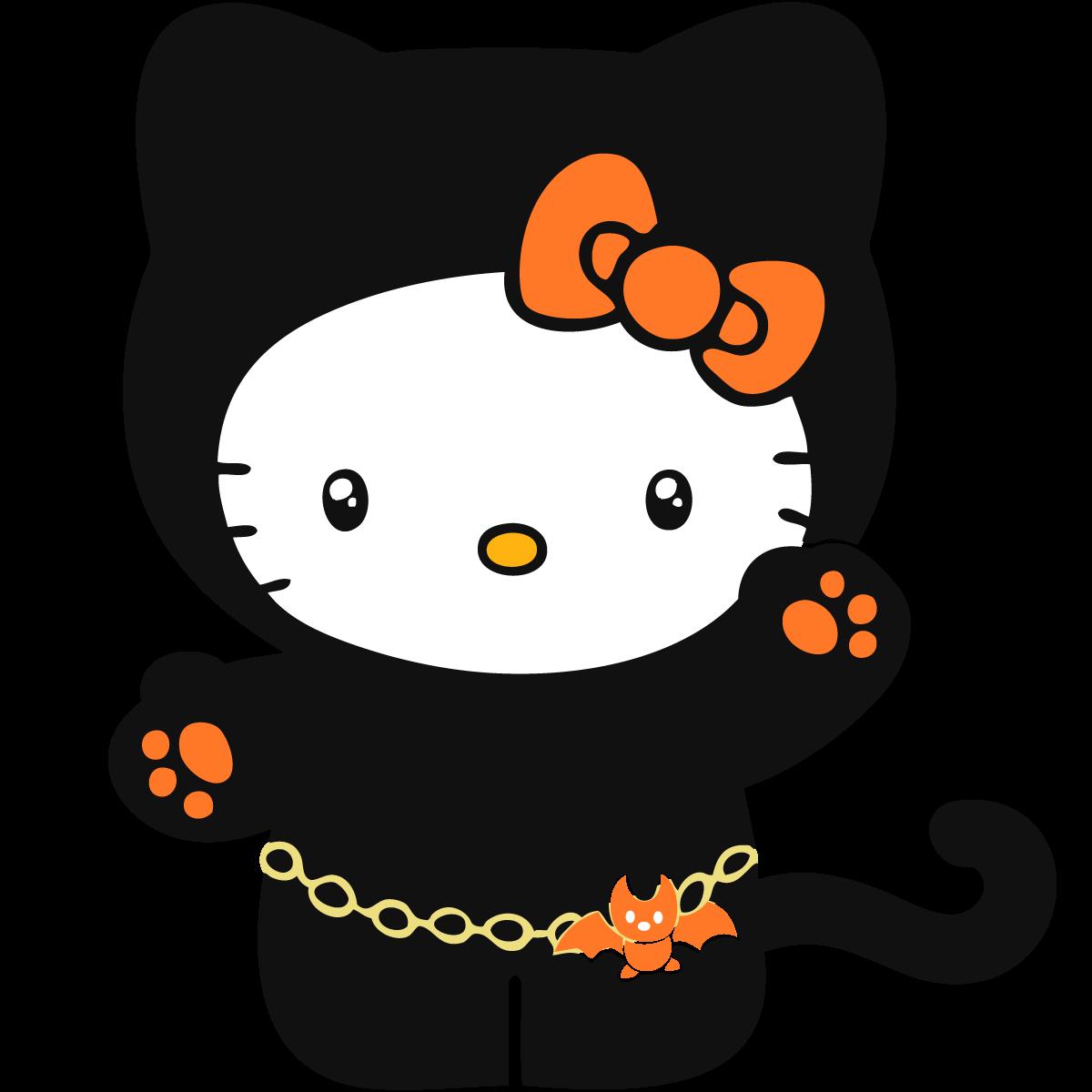 Halloween clipart kitty, Halloween kitty Transparent FREE ...