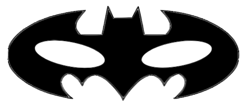 Mask clipart symbol. Super hero template teacherl