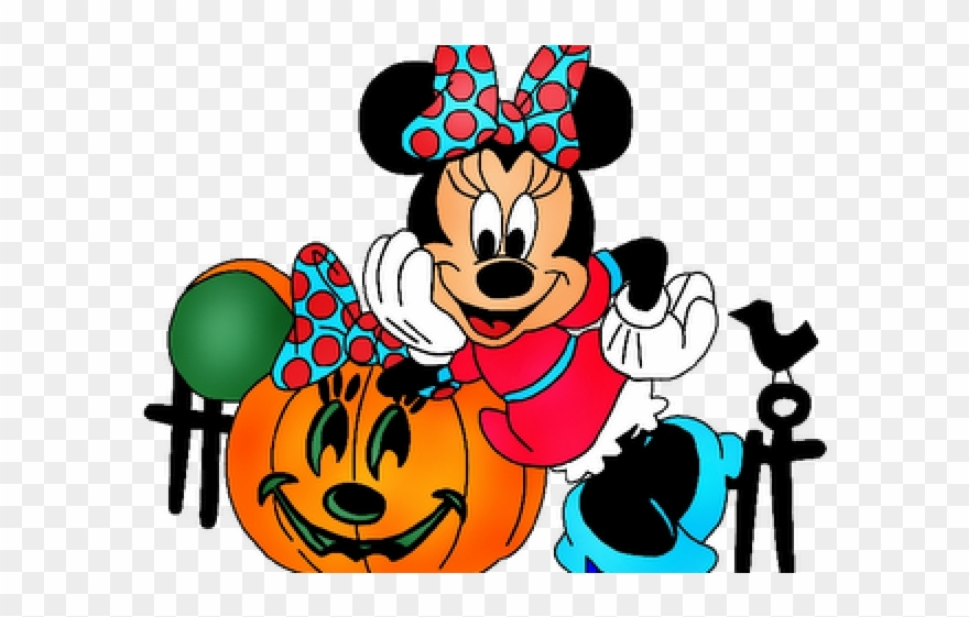 Halloween clipart minnie mouse, Halloween minnie mouse ...