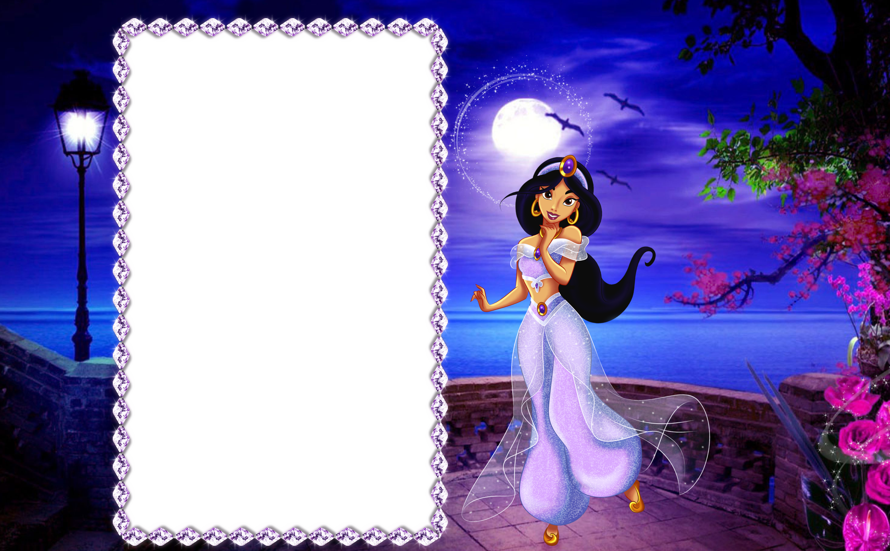 Halloween clipart night. Princess jasmine kids png