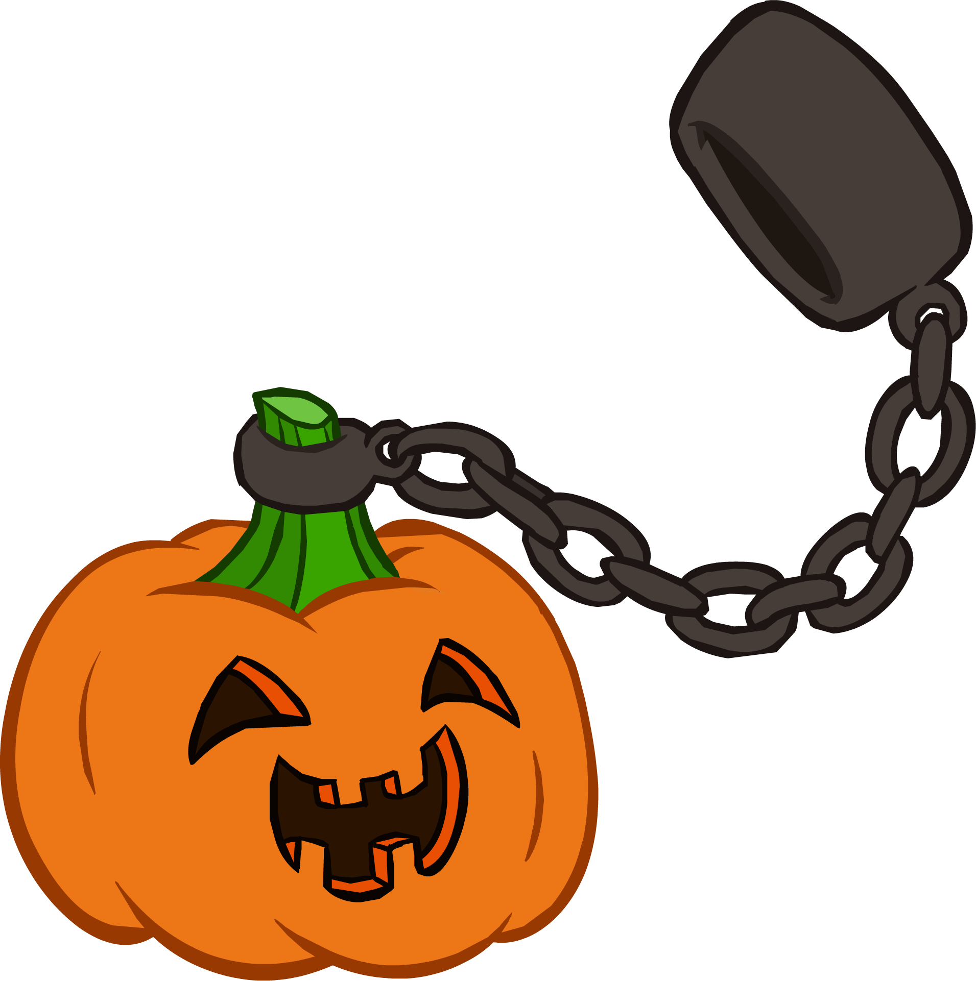 Halloween clipart penguin. Party interface club wiki