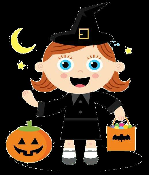 Clip art by trinismile. Halloween clipart treat