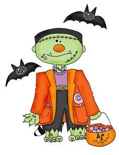 Halloween clipart whimsical. Clip art arts for