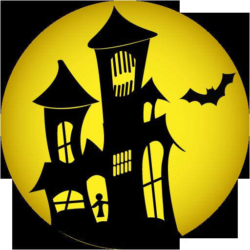 Halloween house png. Hd mart