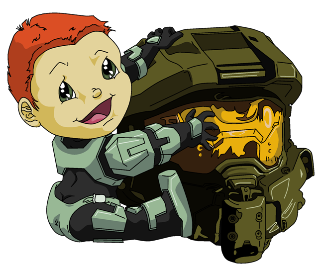 How well do you. Halo clipart baby