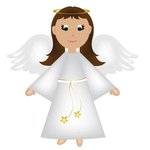 Halo clipart christmas angel. Wearing shoes clip art