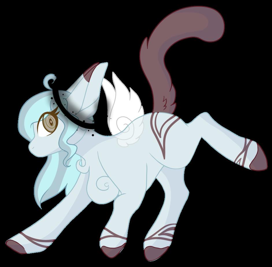 artist kiara kitten. Wing clipart halo