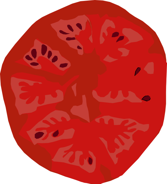 Pepperoni group slice clip. Tomatoes clipart sliced tomato