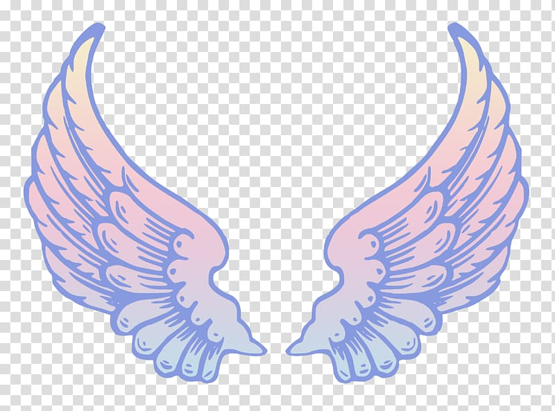 White wings illustration angel. Heaven clipart wing