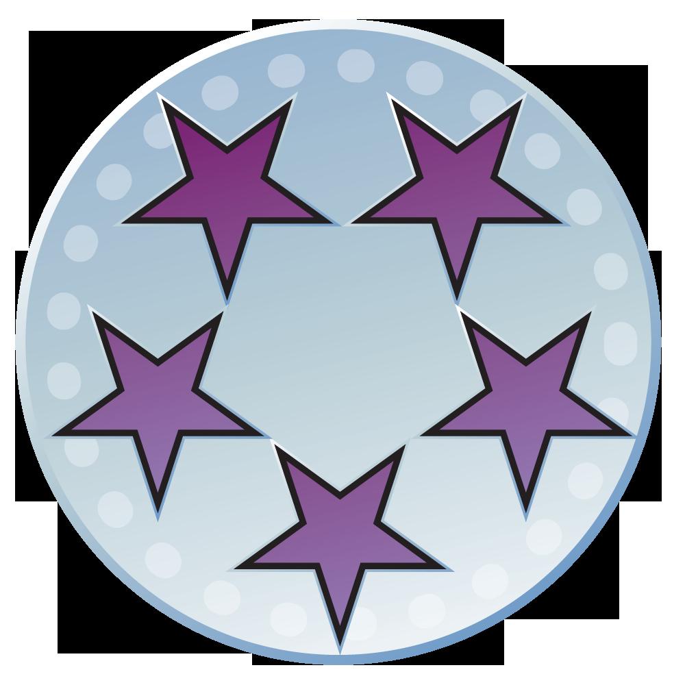 Killtacular halo nation fandom. Purple clipart medal