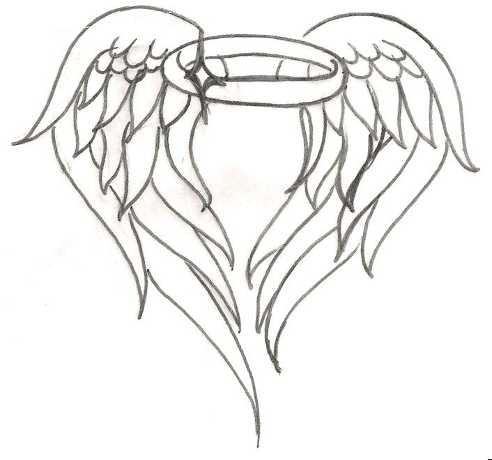 Halo Clipart Wing Tattoo Design Picture 2789657 Halo Clipart Wing Tattoo Design
