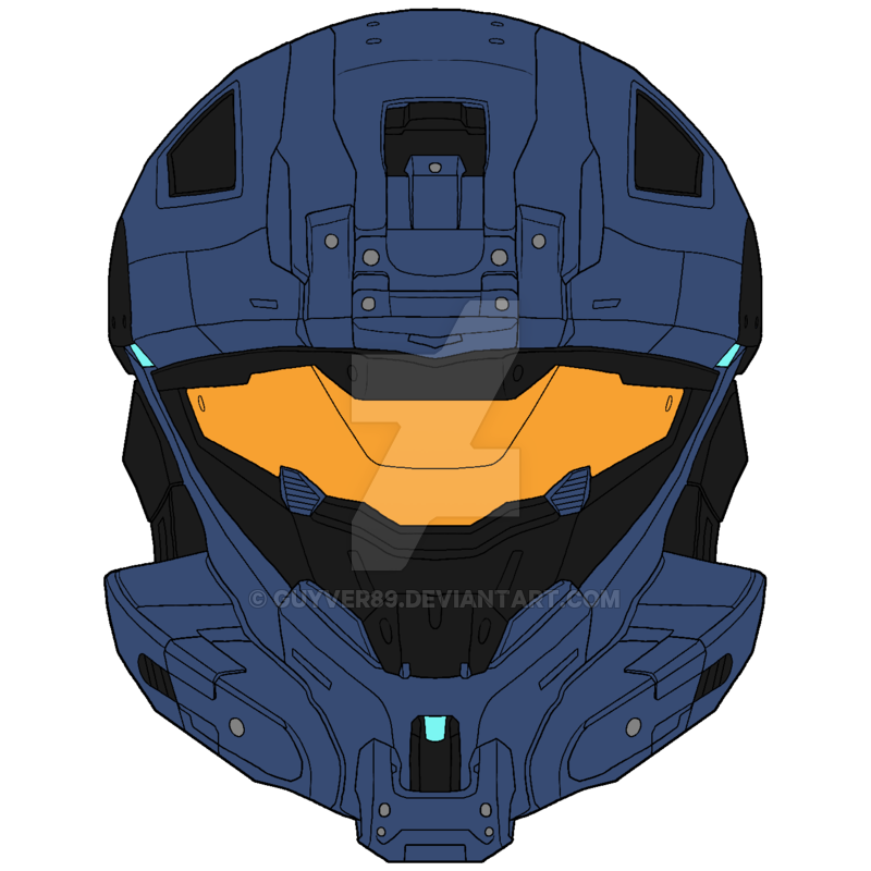 Ammunition recon by guyver. Halo spartan helmet png