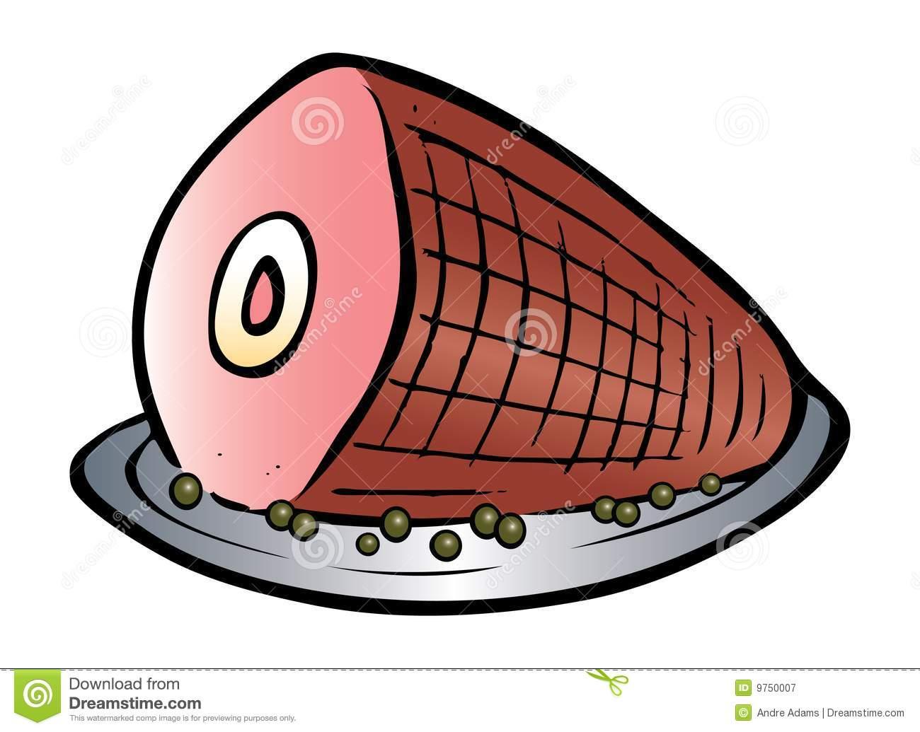 Ham clipart. Clip art free panda