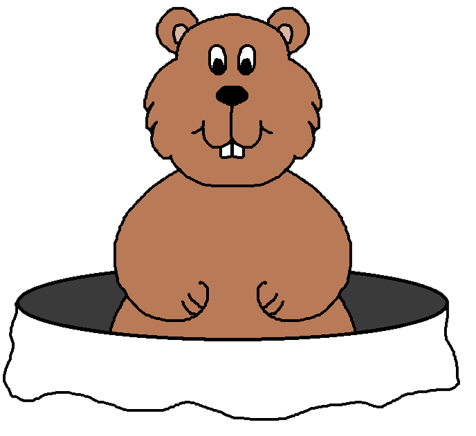 Clip art groundhog wikiclipart. Ham clipart animated