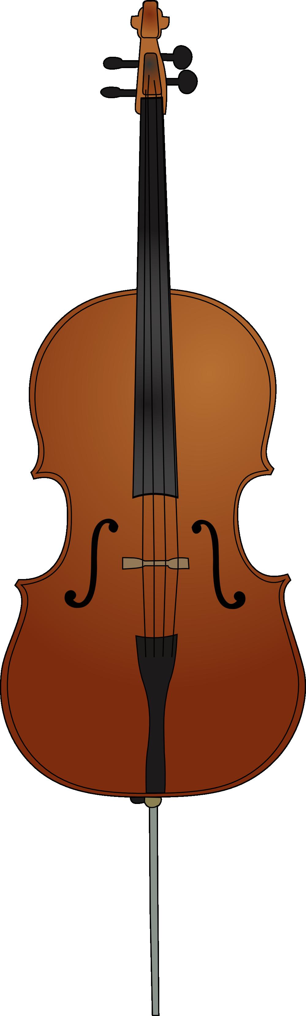 Cartoon free clip art. Cello clipart