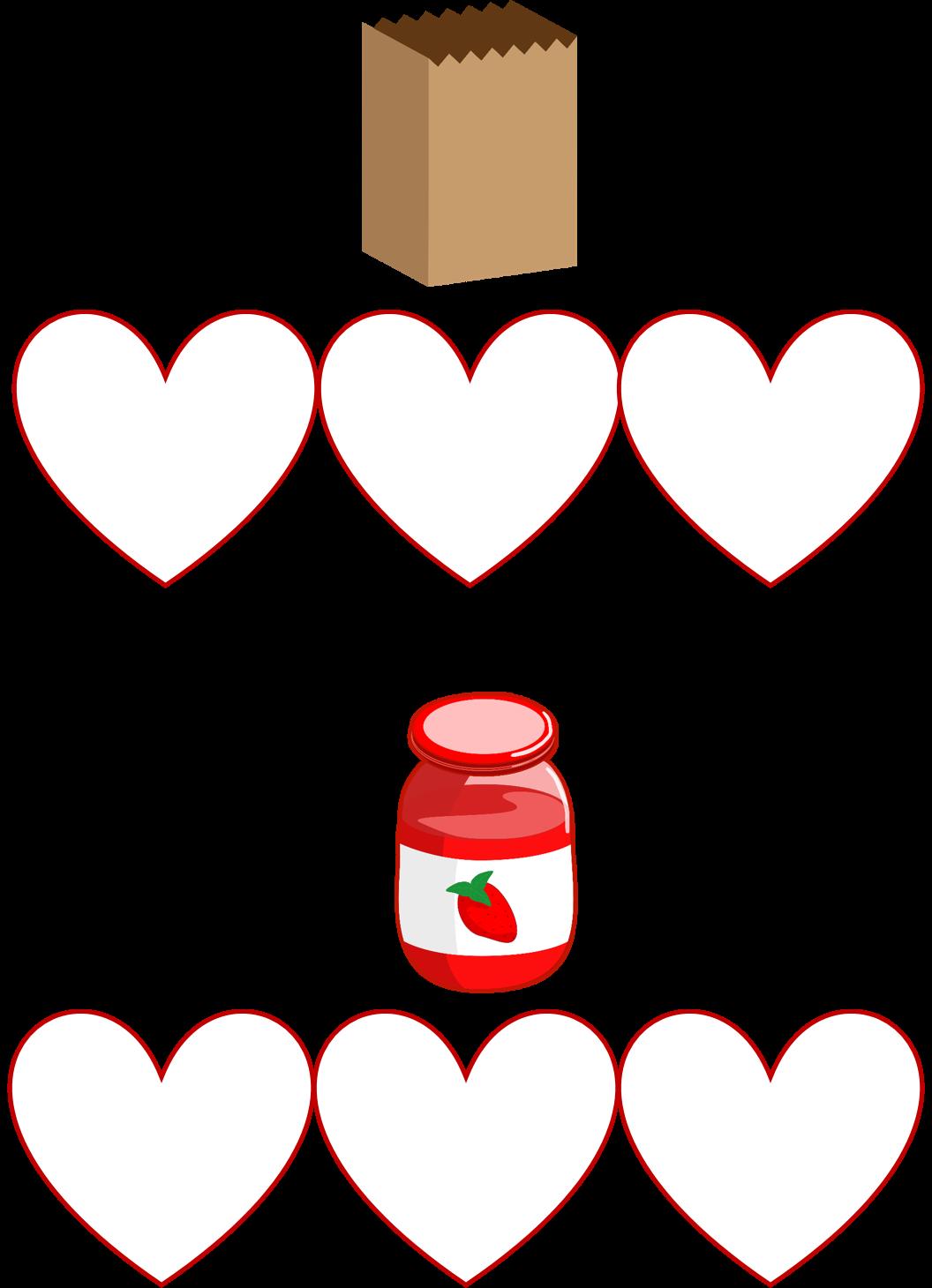 Valentine s day build. Ham clipart cvc