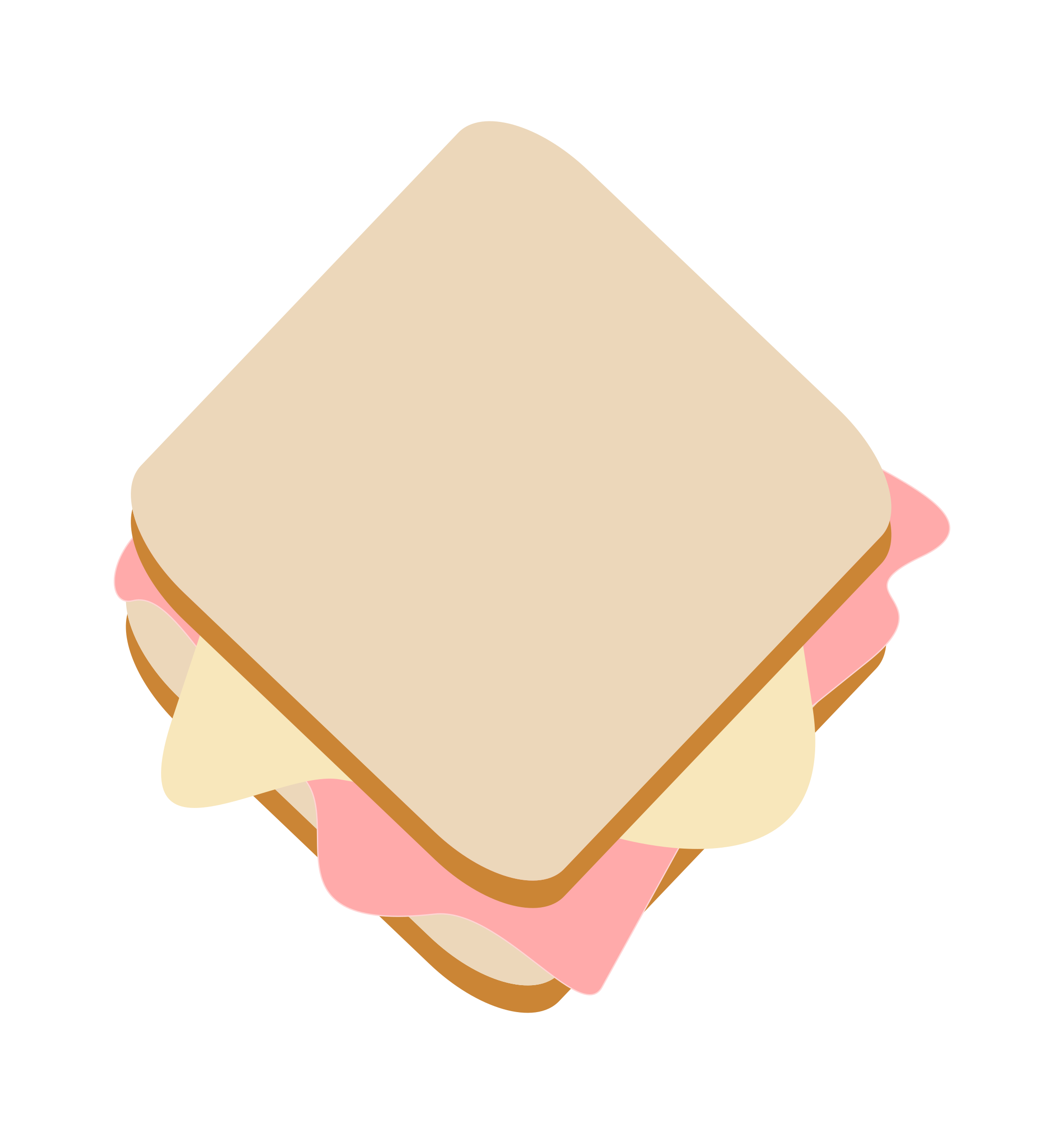 Ham clipart ham cheese. Toast big image png