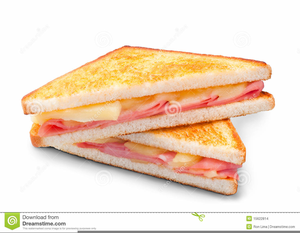 Free and sandwich images. Ham clipart ham cheese