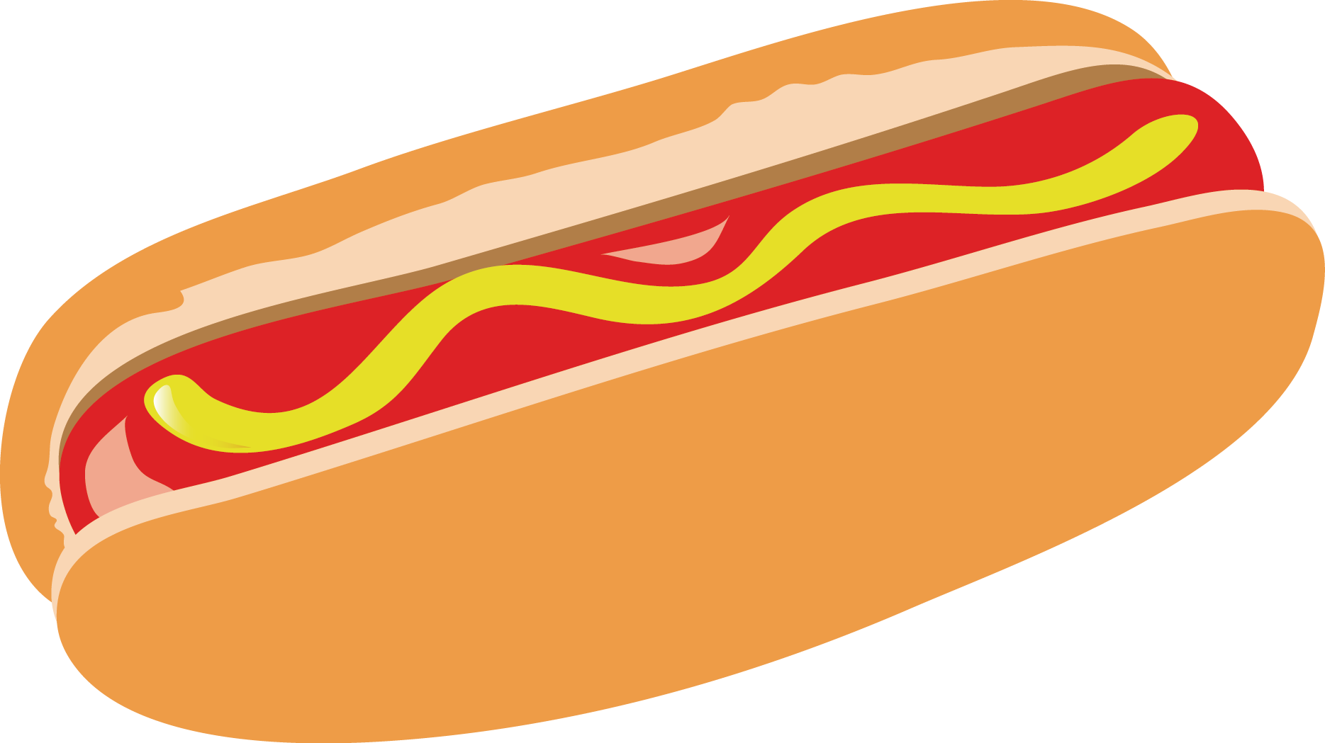 Ham clipart ham dinner. Hot dog breakfast hamburger