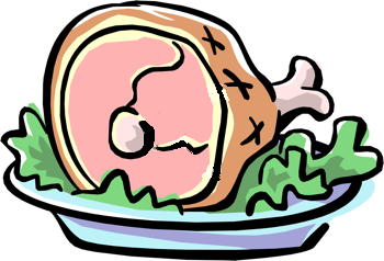 Free download best . Ham clipart ham dinner