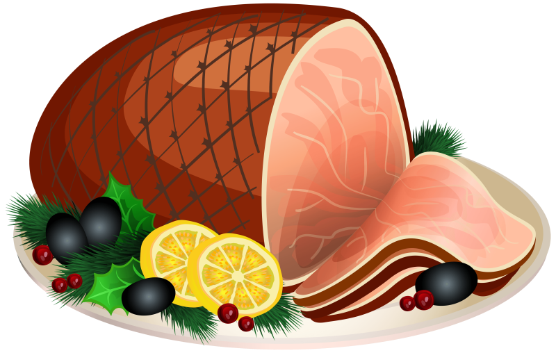 Ham clipart nice. Sliced ourclipart pin