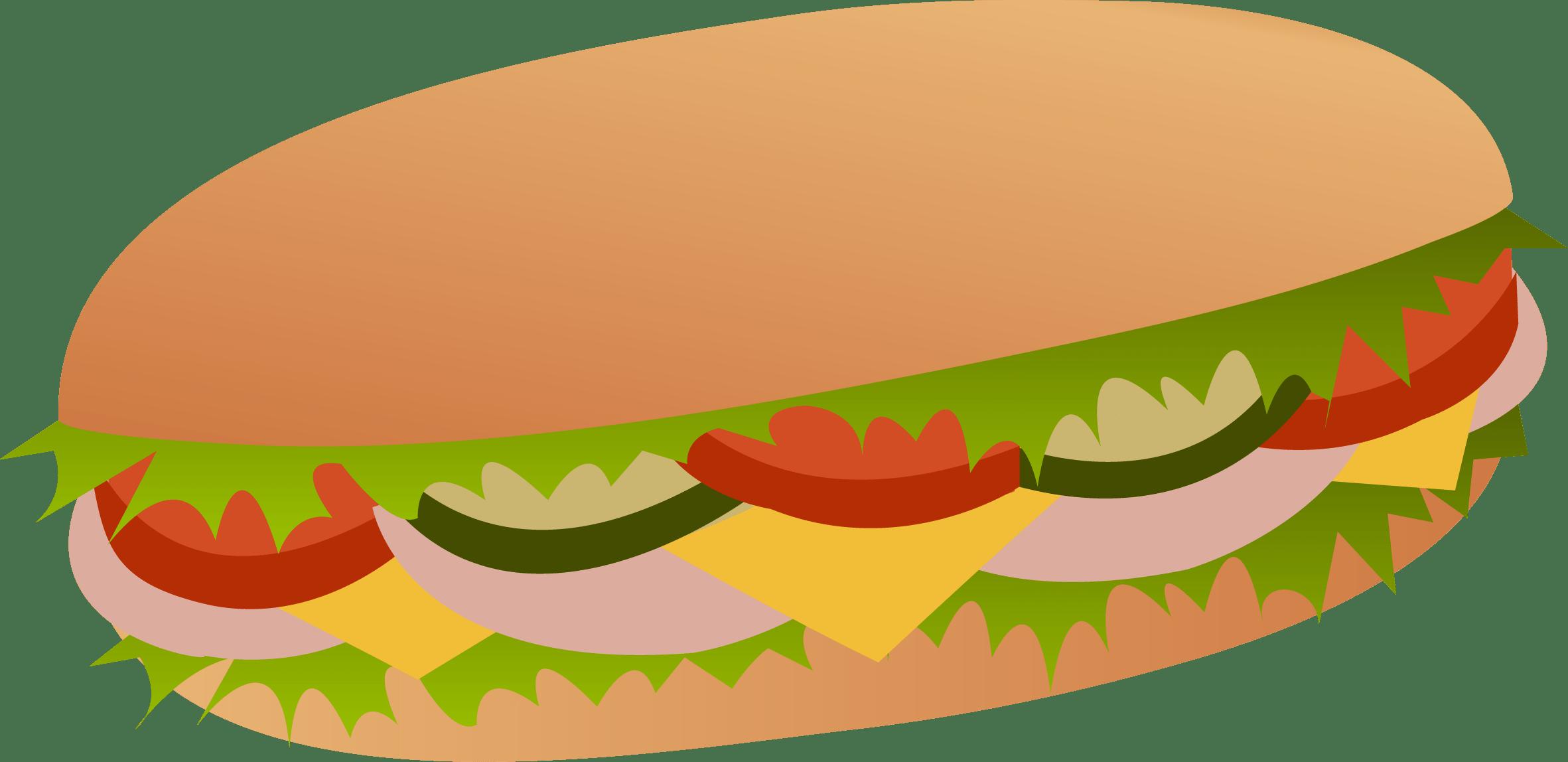 And cheese sandwich . Ham clipart sandwhich