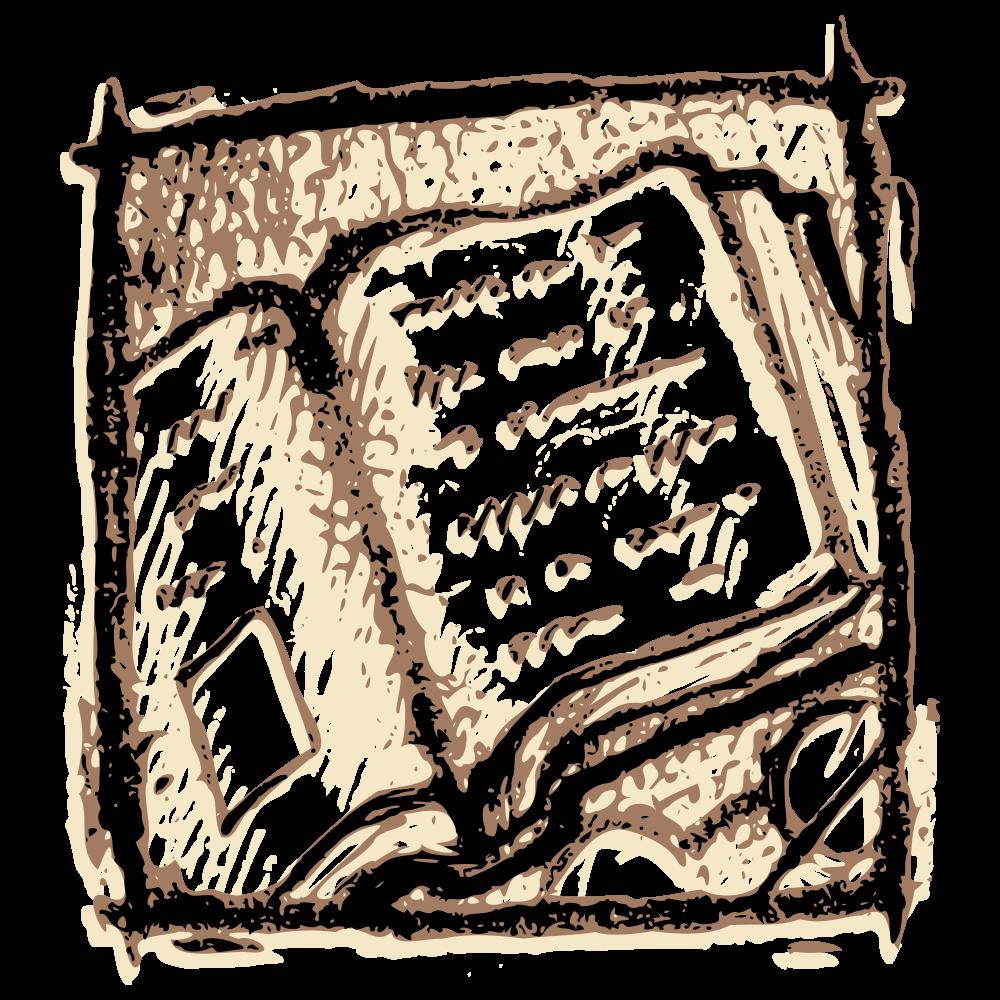 File open book wikimedia. Ham clipart svg