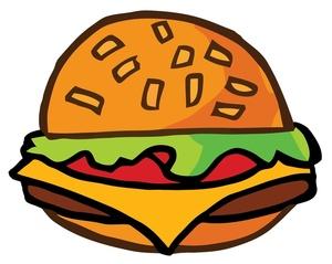 Free image computer a. Hamburger clipart