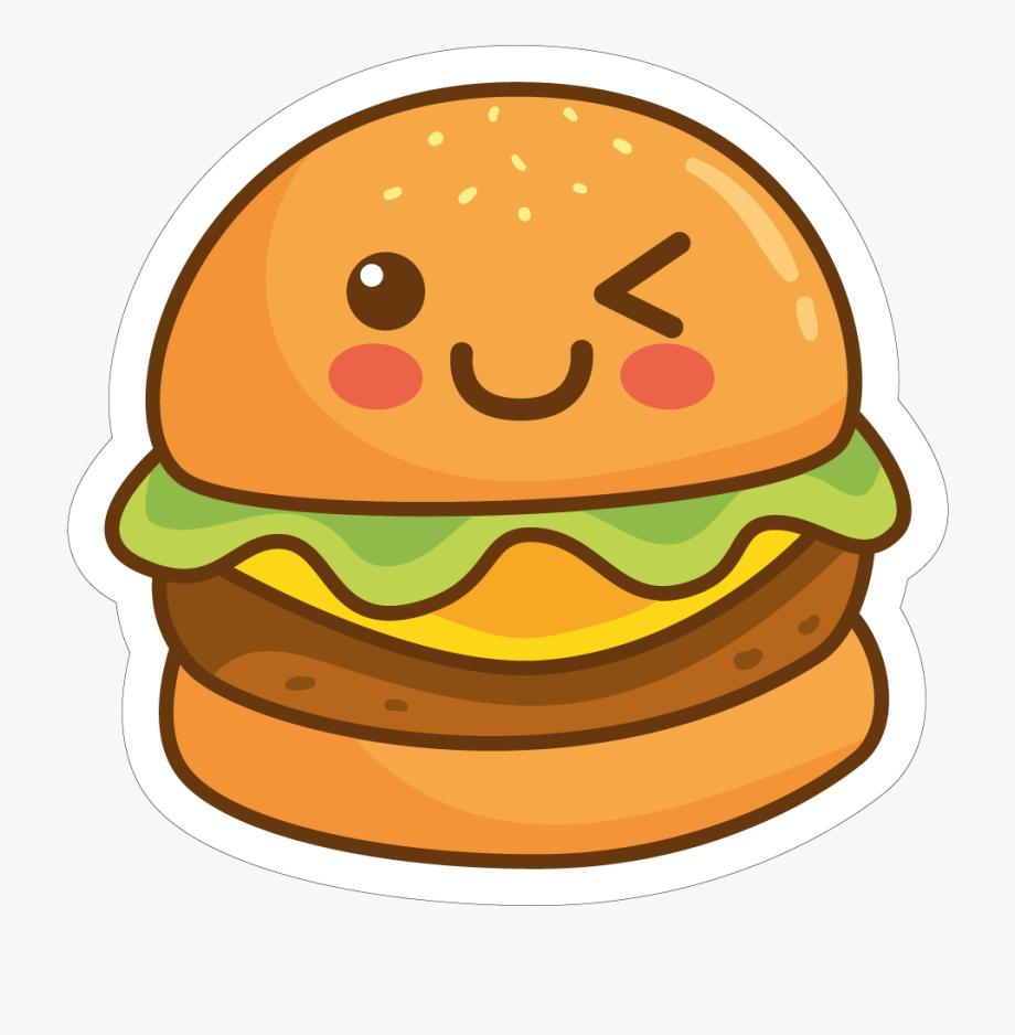 Burger clipart cute. Hamburger png free