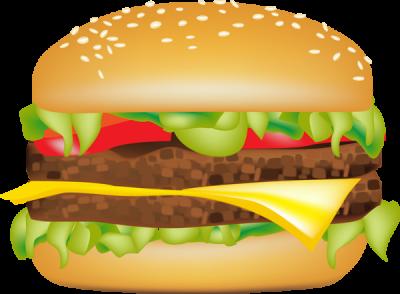 Hamburger clipart. Clipartaz free collection burger
