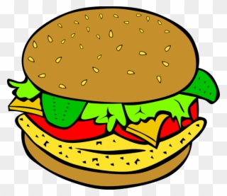 Hamburger clipart abundance. Free png clip art