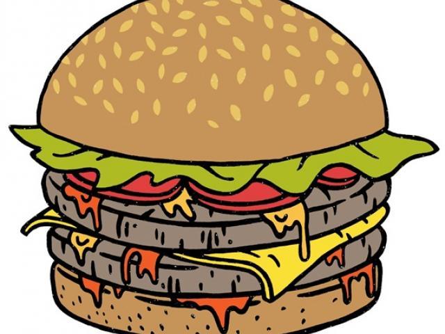 Free download clip art. Hamburger clipart abundance