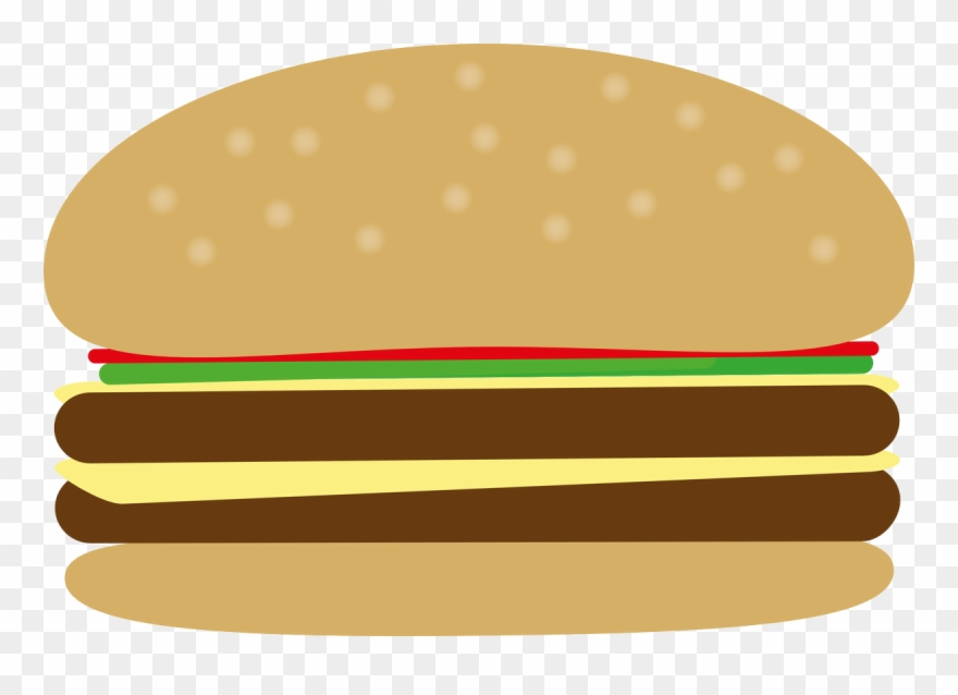 Junk burger png . Hamburger clipart bbq food
