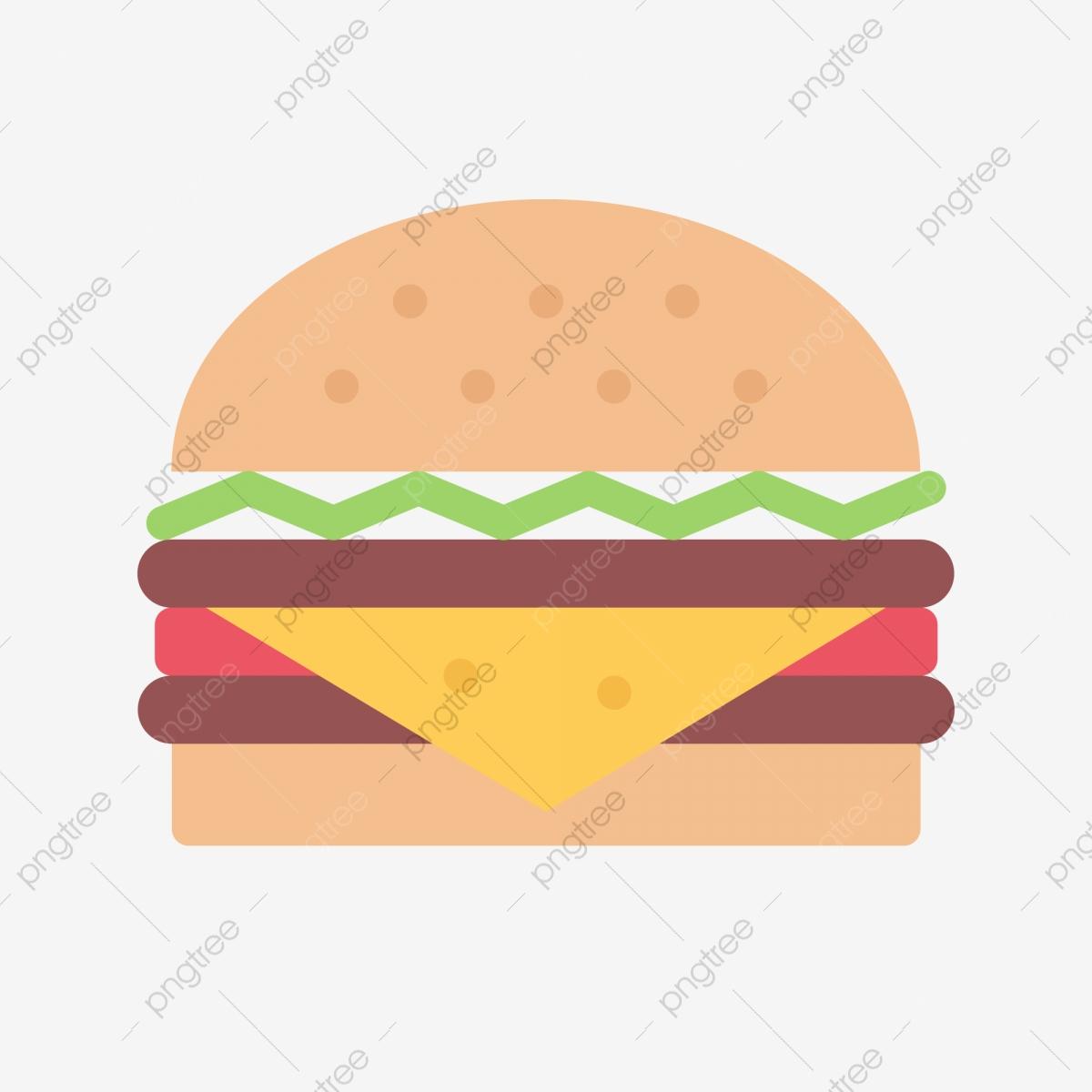 Delicious food mcdonalds icon. Hamburger clipart bread