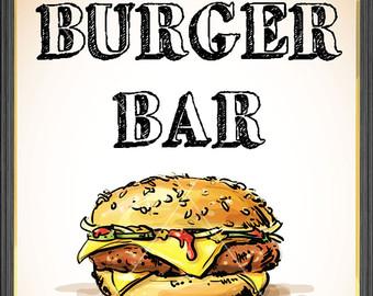 Clip art library . Hamburger clipart burger bar