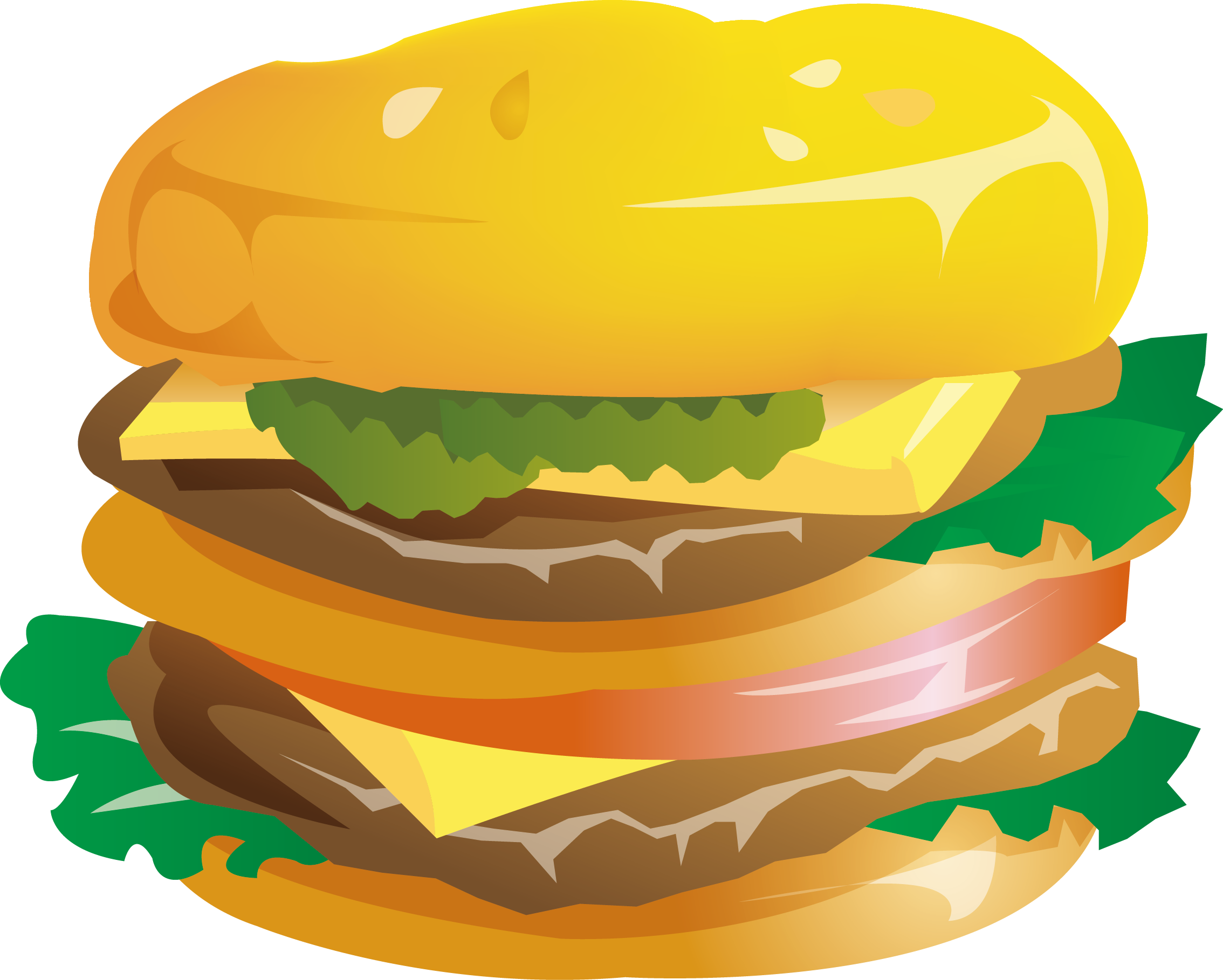 Mcdonalds big mac cheeseburger. Hamburger clipart chicken burger
