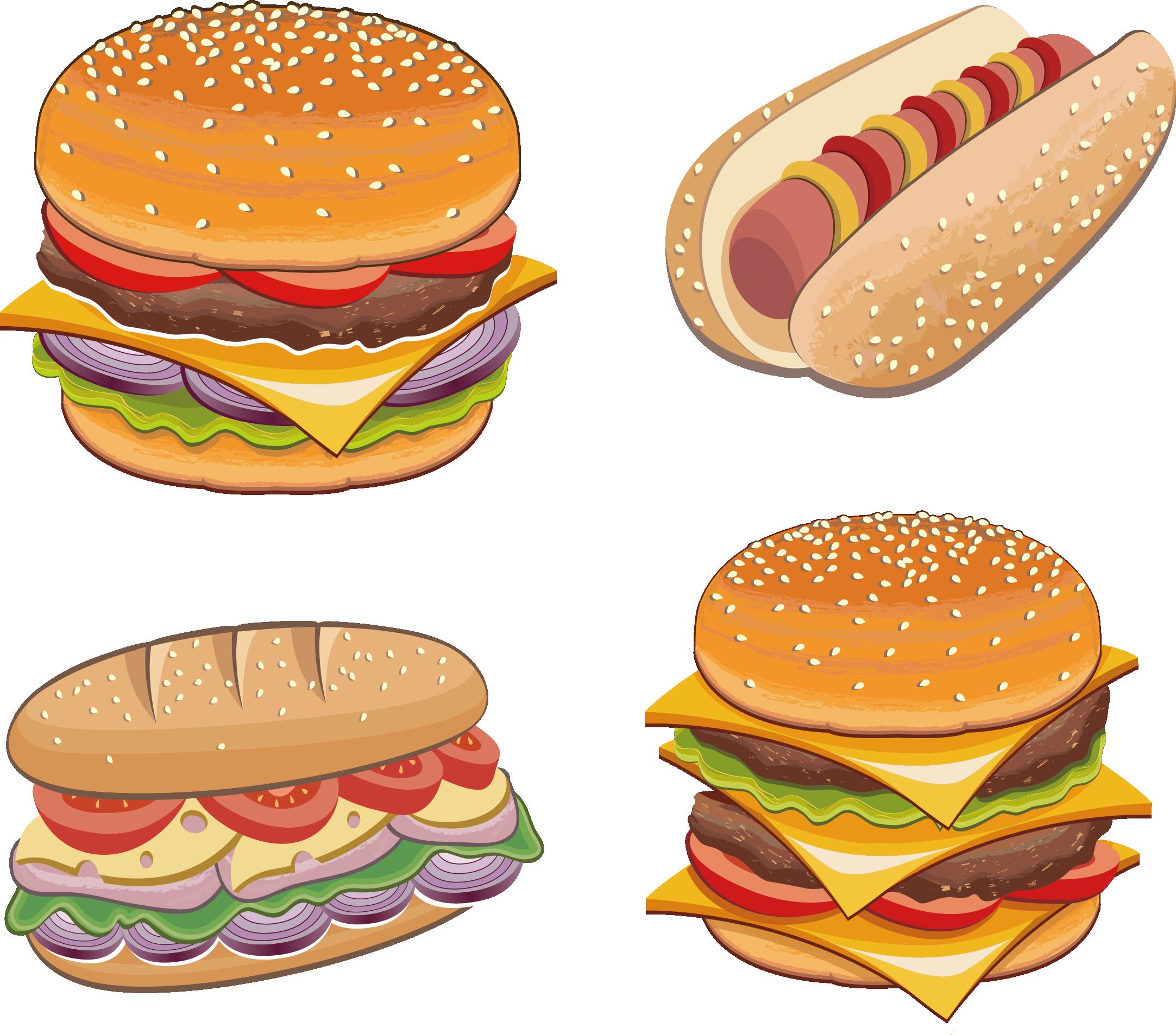 Hamburger clipart chicken burger. Sandwich fast food buffalo