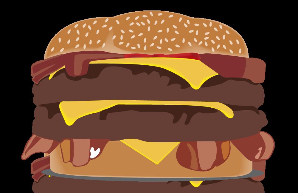 Portfolio of matthew wint. Hamburger clipart layer