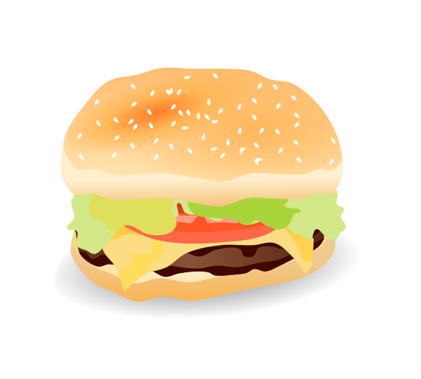 Free burger pictures download. Hamburger clipart pizza