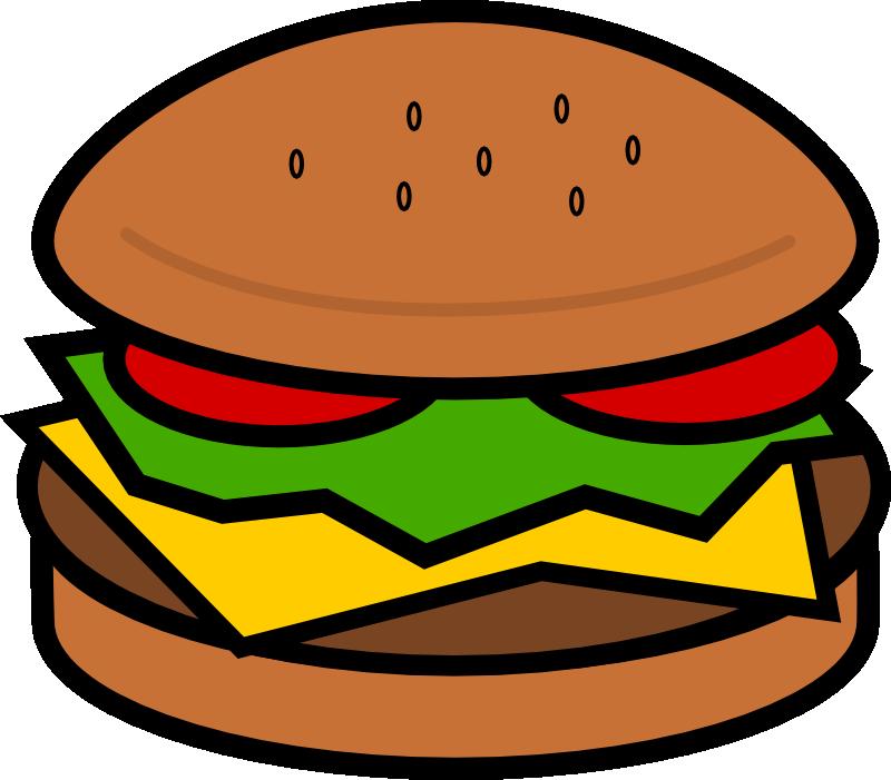 Burger clip art cliparts. Hamburger clipart pizza