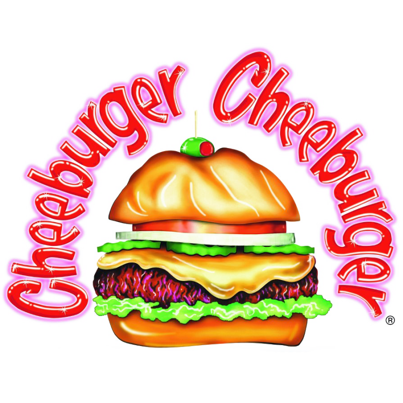 Pasta clipart western food. Cheeburger delivery s rainbow