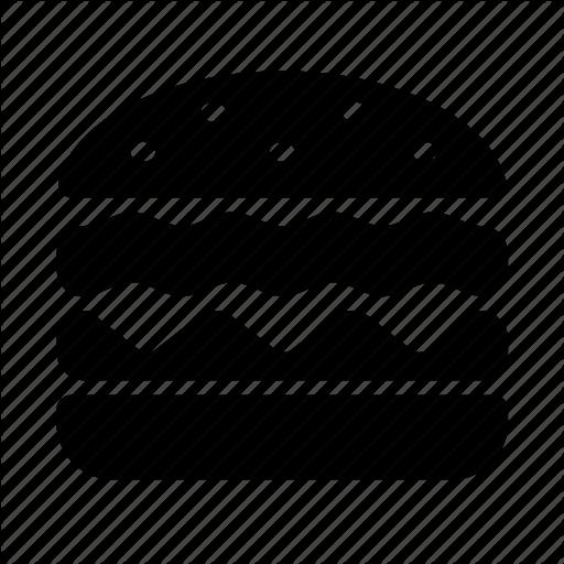 Cosmo food by icojam. Hamburger icon png