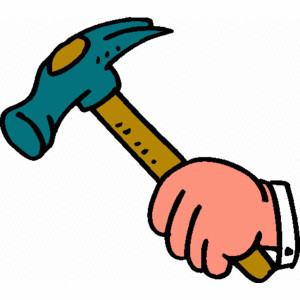 Clipart hammer h be for. Station