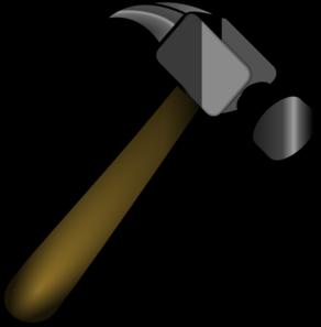 Clip art at clker. Hammer clipart