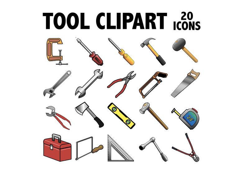 Tools printable construction equipment. Hammer clipart design technology tool