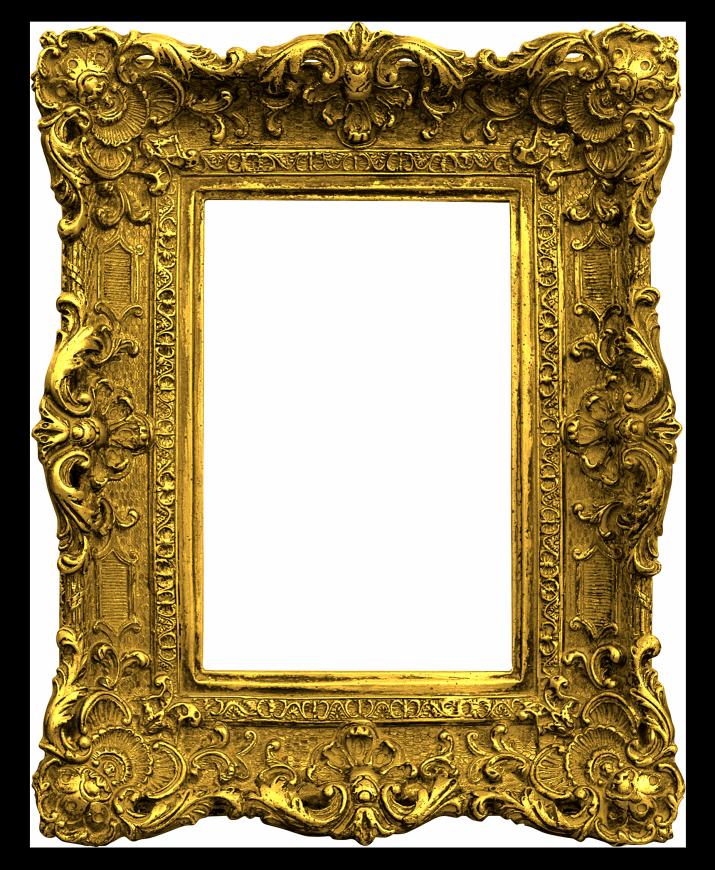 Picture frame png. Antique gold frames framepng