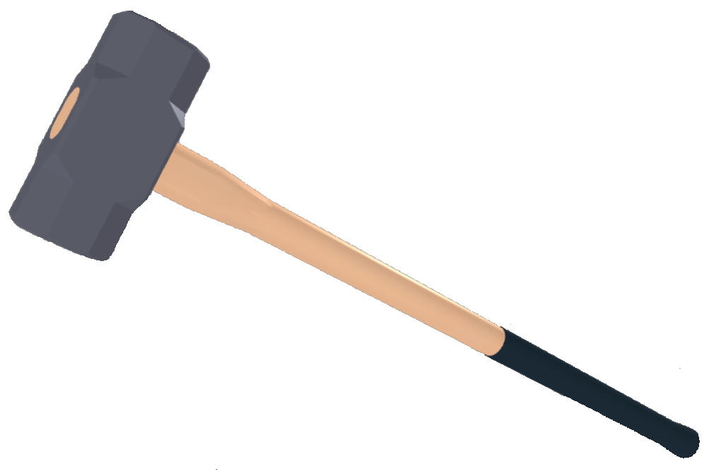 Hammer clipart left handed. Picture free download best