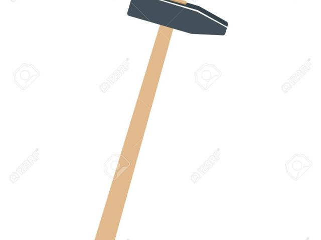 Free download clip art. Hammer clipart long object