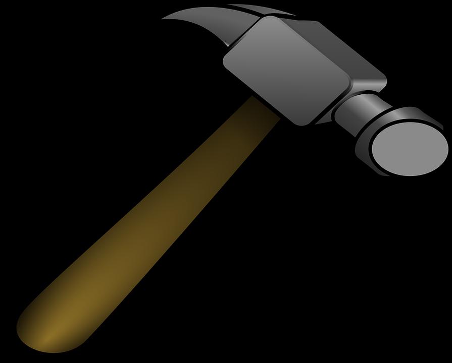Hammer clipart martillo. Imagen gratis en pixabay